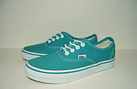 Кеды Vans Aqua Authentic бирюзовые