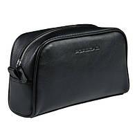 Кожаная сумочка Porsche Washbag Black