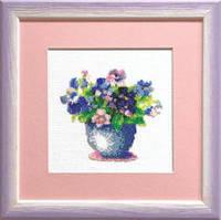 Набор для вышивки бисером «Весенние цветы»