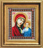 Набор для вышивания бисером «Икона Пресвятой Богородицы Казанская»