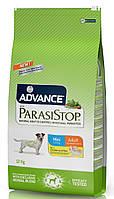 Корм от кишечных паразитов для собак малых пород Advance ParasiStop Mini Adult