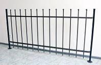 Сварные ограждение и забор высота 950мм (модель М-10) грунт, бесплатная доставка по Украине