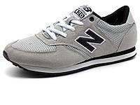 Кроссовки New Balance 420 мужские, комбинированные, серые, фото 1