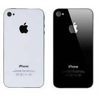 Задняя панель для iPhone 4/4S оригинал (белый, черный)