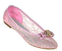 Женские балетки LAURA pink!, фото 1