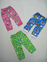 Детские штанишки под памперс с начесом. Размер 52 - 80 см