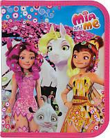 Папка на молнии Kite Mia&Me B5