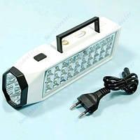 Светодиодный автомобильный фонарик на аккумуляторе 38 LED 1300 mAH, фото 1