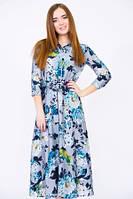 Эффектное летнее платье ретро стиль