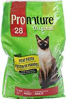 Сухой супер премиум корм для котов Пронатюр Мясная фиеста (Pronature Original),развес 5 кг