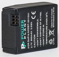 Aккумулятор PowerPlant GoPro Hero 3, AHDBT-201, 301