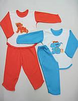 Пижама детская с вышивкой Лимпопо Размер 80 - 122 см