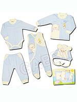 """Детский комплект для новорожденных """"Мишуля"""" в подарочной упаковке"""
