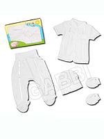 """Детский комплект для новорожденных в подарочной упаковке """"Лучик"""""""