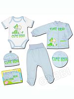"""Детский костюм для мальчика """"Обнимашки-2"""" в подарочной упаковке"""
