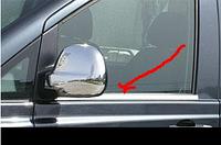 Хром молдинг стекла (оконтовка окна) Volkswagen CADDY (Фольксваген кадди), нерж.