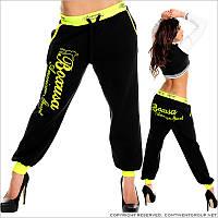 Теплые спортивные женские штаны