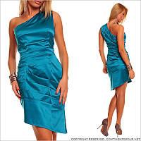 Ассиметричное вечернее платье
