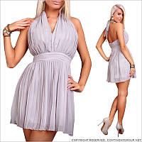 Легкое платье без рукавов