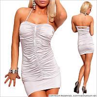 Коктейльное обтягивающее платье