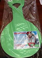 Сидушка санки M детская одноцветная износостойкий скользящий слой