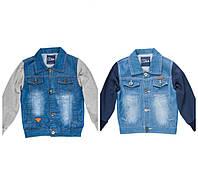 Джинсовая куртка для мальчика подростка 8-16 лет
