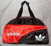 Женская спортивная сумка Adidas 013074 черная с красным