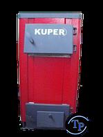 Котел стальной на дровах Kuper 12, мощностью 12 кВт.
