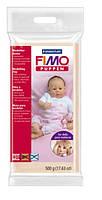 448029 Полимерная глина FIMO Puppen ,1 блок500гр,беж фарфор,для кукол