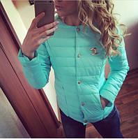 Куртка женская из плащевки Шанель. Новые цвета