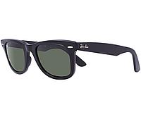 Стильные солнцезащитные очки Ray-Ban 2140 Wayfarer стекло