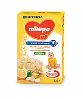 Молочная каша Milupa Мультизлаковая с фруктами, хлопьями и шариками милупа, 230 г