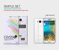 Защитная пленка Nillkin для  Samsung E500 Galaxy E5 глянцевая
