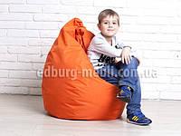 Кресло мешок груша детская   красный Oksford