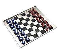 Шахматы магнитные дорожные алюминиевые