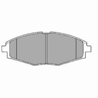 Тормозные колодки передние R13 на DAEWOO LANOS и SENS (FOMAR)