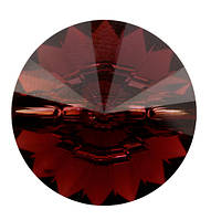 Пуговицы Сваровски 3015 Burgundy ss 14