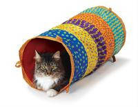 """Petstages Cat Cuddle Toy Игрушка для кошек """"Кошачий тоннель"""" 1 шт."""