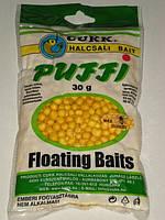 Наживка рыболовная плавающие воздушное тесто CUKK PUFFY  МЕД миди (7 - 8 мм)