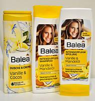 """Подарочный набор Balea """"Ваниль"""" (шампунь+бальзам+гель для душа)для волос)"""