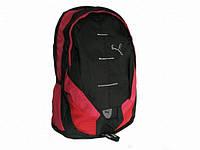 Спортивный рюкзак Puma черный с красным