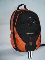 Спортивный рюкзак Puma c оранжевыми вставками