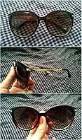 """Женские солнцезащитные очки """"MiuMiu"""" (коричневые)"""