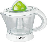 Ежедневный утренний фреш с соковыжималкой hilton ae-3165, пластиковый кувшин объемом 1 литр, мощность 40вт