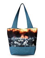 Дамская женская сумка с 3D рисунком Одуванчик