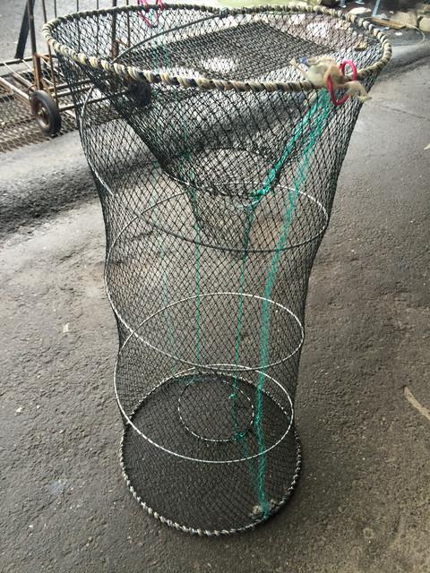 размер паука для рыбной ловле