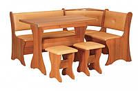 Кухонный уголок с раскладным столом Маркиз-2