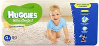 Подгузники Huggies Ultra Comfort №4+ 10-16 кг (60 шт) (хаггис ультра комфорт) для мальчиков