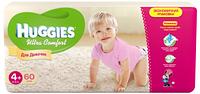 Подгузники Huggies Ultra Comfort №4+ 10-16 кг (66 шт) (хаггис ультра комфорт) для девочек