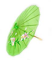 Китайский шелковый зонт 39 см (цвет в ассортименте)